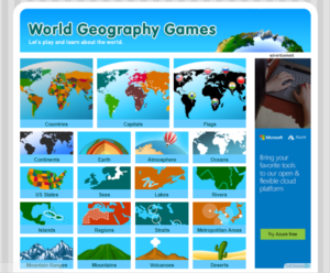 Jocuri geografie fizica