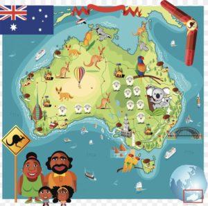 jocuri geografie Australia