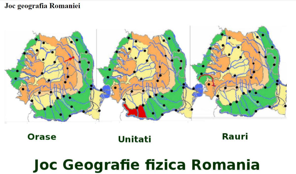joc geografie romania