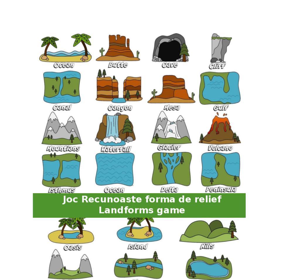 jocuri geografie relief